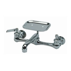 PROFLO® Two Handle Lever Service Faucet in Polished Chrome PFXC800U