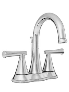 PROFLO® Willett Two Handle Centerset Bathroom Sink Faucet with Pop-Up Drain Assembly in Polished Chrome PFWSC2840CP