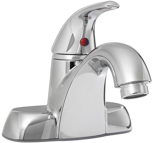 PROFLO® Single Handle Centerset Bathroom Sink Faucet in Polished Chrome PFWSC4744CP