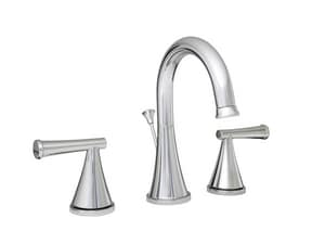 PROFLO® Willett Two Handle Widespread Bathroom Sink Faucet with Brass Pop-Up Drain Assembly in Brushed Nickel PFWSC2860BN