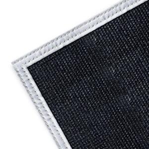 Kimberly Clark Fiberglass Welding Blanket with Corner Grommets 6 x 6 ft. Black K36302 at Pollardwater