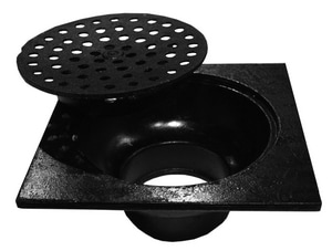 Tyler Pipe Cast Iron Area Drain with Side Outlet T40
