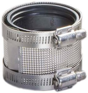 15 in. No-Hub Stainless Steel Coupling DNHC15