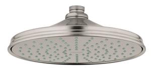 Grohe Euphoria 260 Single Function Rain Showerhead in StarLight Brushed Nickel G26474EN0