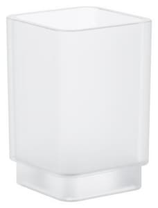 GROHE® Selection Cube Cube Glass for Soap Dispenser in DaVinci Satin White G40783000
