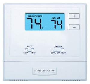 Frigidaire Non-Programmable Wireless Digital Wall Thermostat FFFTSTATWL