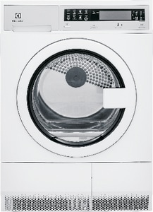 Electrolux Home Products Front Load Electric Dryer in Island White EEFDE210TIW