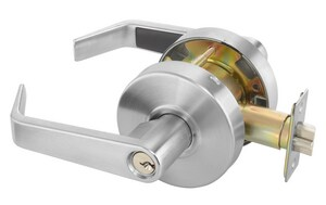 Yale Security Augusta Cylinder Storeroom Lock in Satin Chrome YAU4605LN626