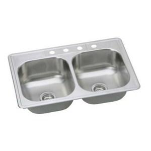 PROFLO® Bealeton 4-Hole 2-Bowl Kitchen Sink in Stainless Steel PFSR332284A