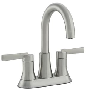 PROFLO® Orrs Two Handle Centerset Bathroom Sink Faucet in Brushed Nickel PFWSC8840BN