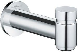 Hansgrohe Talis S 1-Hole Tub Spout with Diverter in Starlight Polished Chrome H72411001
