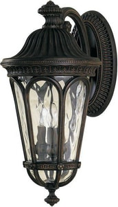 Regent Court WALN 3 60 Watts Candelabra Lantern Wall Mount *REGCOU MOL5603WAL
