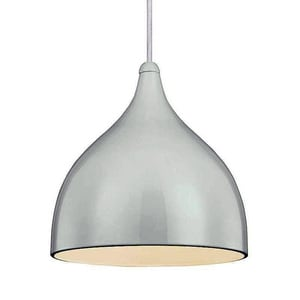Murray Feiss Industries Dutch 8-3/4 in. 1-Light Medium E-26 Base Dutch Mini Pendant in Sprout Green MP1316SPGN