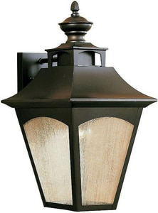 Murray Feiss Industries Homestead 150 W Wall Mount Lantern in Oil Rubbed Bronze MOL1002ORB