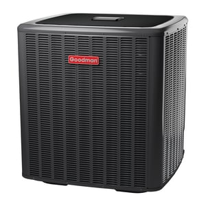 Goodman GSZ16 Series 3.5 Ton 16 SEER Horizontal and Upflow Single-Stage R-410A 1/4 hp Split-System Heat Pump GGSZ160421