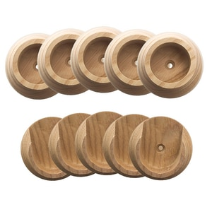 Wood Closet Rod 5 Pack D206151