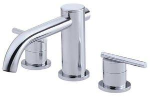 Danze Parma® Two Handle Roman Tub Faucet in Polished Chrome Trim Only DD305658T