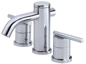 Danze Parma™ 5-1/2 in. 3-Hole Deckmount Widespread Lavatory Faucet with Double Lever Handle in Polished Chrome DD304158
