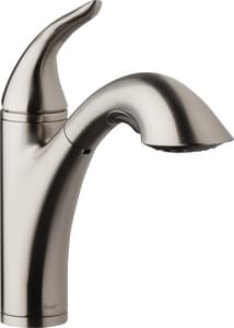 Danze Antioch™ Single Handle Kitchen Faucet in Stainless ...