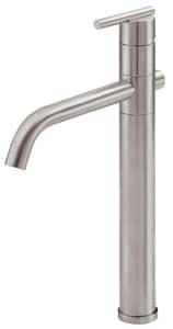 Danze Parma™ 1.2 gpm 1-Hole Deck Mount Vessel Lavatory Faucet with Single Lever Handle and High Swivel Spout in Brushed Nickel DD225158BN