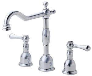 Danze Opulence™ Two Handle Widespread Bathroom Sink Faucet in Polished Chrome DD304157
