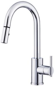 Danze Parma™ Single Handle Pull Out Kitchen Faucet in Polished Chrome DD453558