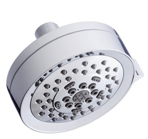 Danze Parma® 4-1/2 in. 1.5 gpm 5-Function Wall Mount Showerhead in Polished Chrome DD460065