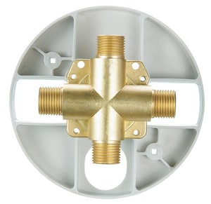 Danze 1/2 in. Copper Sweat and IPS Pressure Balancing Valve DD115000T