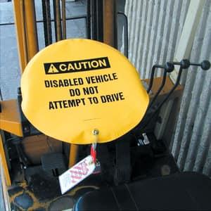 16 Wheel Cover CAUTION VEH SERVICING AKDD716 at Pollardwater