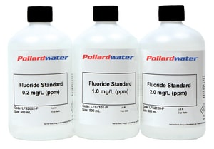 Aquaphoenix Scientific Incorporated 2.0 ppm Fluoride Standard Solution 1L AFS2120Q at Pollardwater
