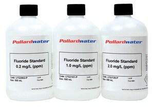 Aquaphoenix Scientific Incorporated 500ml 2 PPM Fluoride Standard AFS2120P at Pollardwater