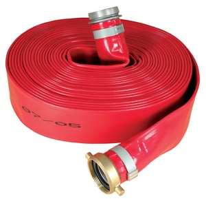 Abbott Rubber Co Inc 1-1/2 in. x 50 ft. PVC Red Discharge Hose MxF NPSM A1150150050 at Pollardwater