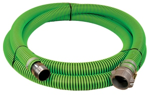 Abbott Rubber Co Inc 3 in. x 20 ft. All Weather Suction Hose MNPSM x Female Quick Connect A1220300020CN at Pollardwater
