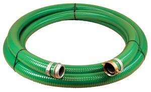 Abbott Rubber Co Inc 4 in. x 20 ft. PVC Suction Hose MxF NPSM A1240400020 at Pollardwater