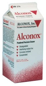 Alconox 25 lb. Powdered Precision Cleaner A1125 at Pollardwater