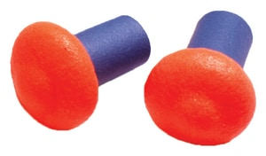 Howard Leight Reusable Ear Plugs (1 Pair) in Orange HQB100HYG at Pollardwater