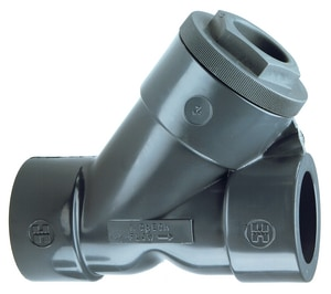 1/2 PVC Threaded Wye Check Valve HYC10050T at Pollardwater