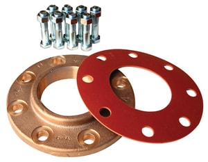 Matco-Norca 3 in. Threaded 150# Companion Bronze Flange MBCF10LF at Pollardwater