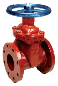 Matco-Norca 200WD Series 3 in. Epoxy Coated Ductile Iron Full Port Flanged Gate Valve M200WD10 at Pollardwater
