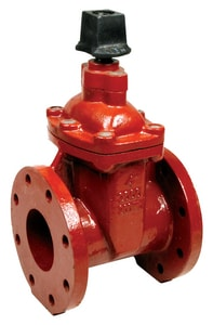 Matco-Norca 200WDN Series 10 in. Flanged Ductile Iron-Stainless Steel 1 piece Resilient Wedge Gate Valve M200WD15N at Pollardwater