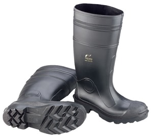 Onguard Industries 16 in. Knee Boots Plain Toe Lug Outsole Size 8 O87401