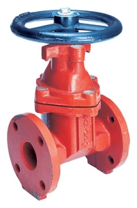 Matco-Norca 200WW Series 6 in. Epoxy Coated Cast Iron Full Port Flanged Gate Valve M200W13W at Pollardwater