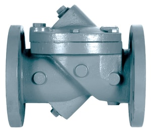 GA Industries 3 in. Epoxy Coated Ductile Iron Flanged Check Valve G200M