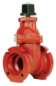 Matco-Norca 200MW Series 10 in. Mechanical Joint Cast Iron-Stainless Steel NRS Resilient Wedge Gate Valve (Less Accessories) M200M15W at Pollardwater