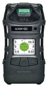 MSA ALTAIR 5X 4 GAS DET COLOR DSPLY M10116928 at Pollardwater