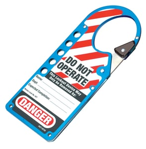 HASP LABELED SNAP-ON BLUE 6 M427BLU at Pollardwater