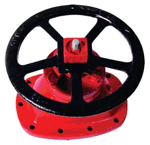 10 in. Handwheel for 2 in. Square Operating Nut E40830 at Pollardwater