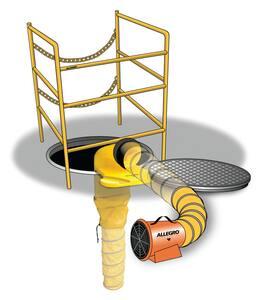 Allegro Industries 8 in. Manhole Ventilation Passthru A951050 at Pollardwater