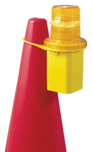 Accuform Signs 8 in. Polycarbonate and Polyethylene Cylindrical Flashing Cone Light AFBC101 at Pollardwater