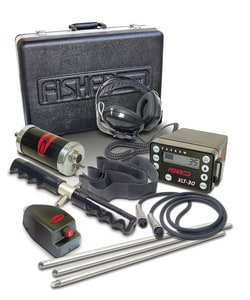 Fisher Little Foot Leak Detector in Black FXLT30C at Pollardwater